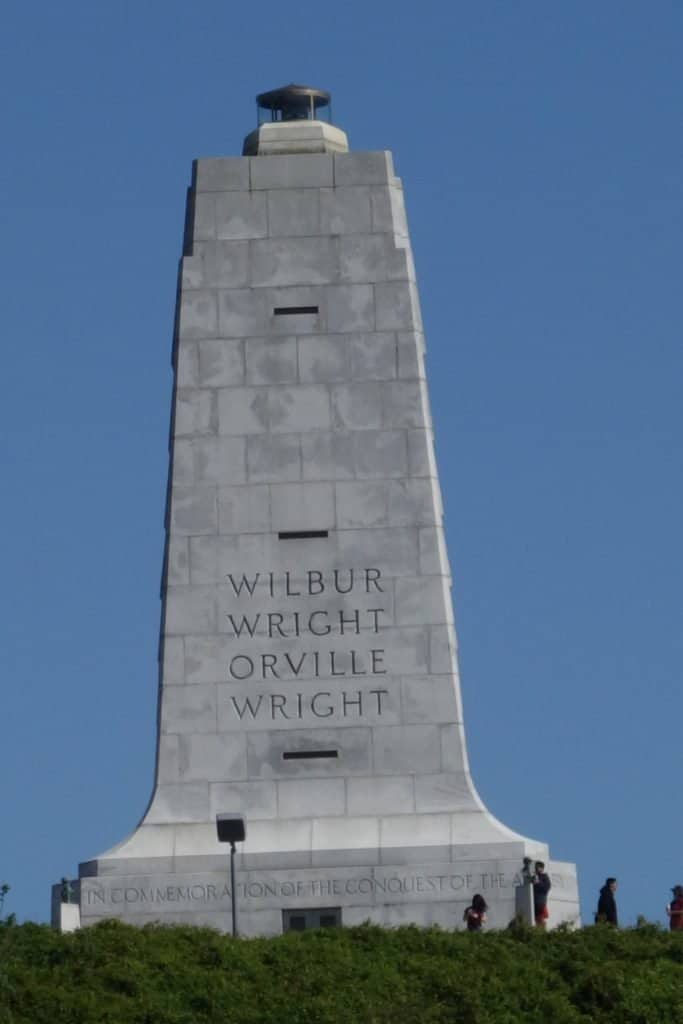 Monument to the Wright Bros