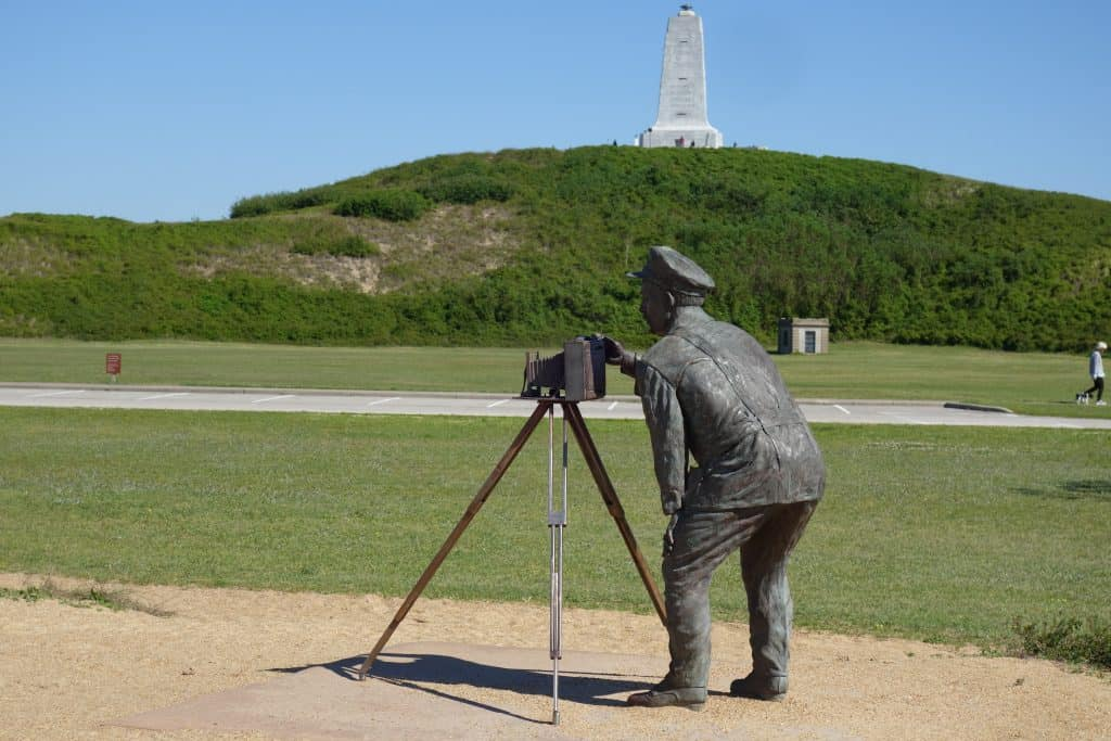 Wright Brothers Monument and Statute