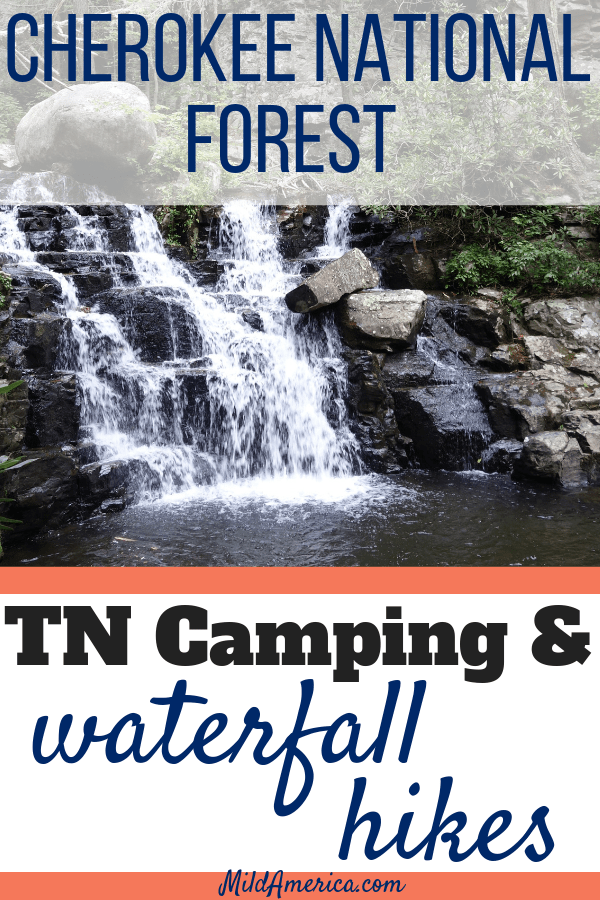 Cherokee National forest camping and hiking
