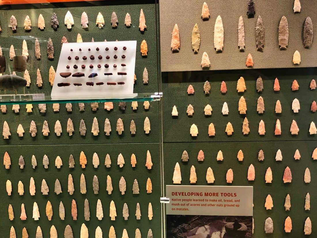 lots of arrowheads